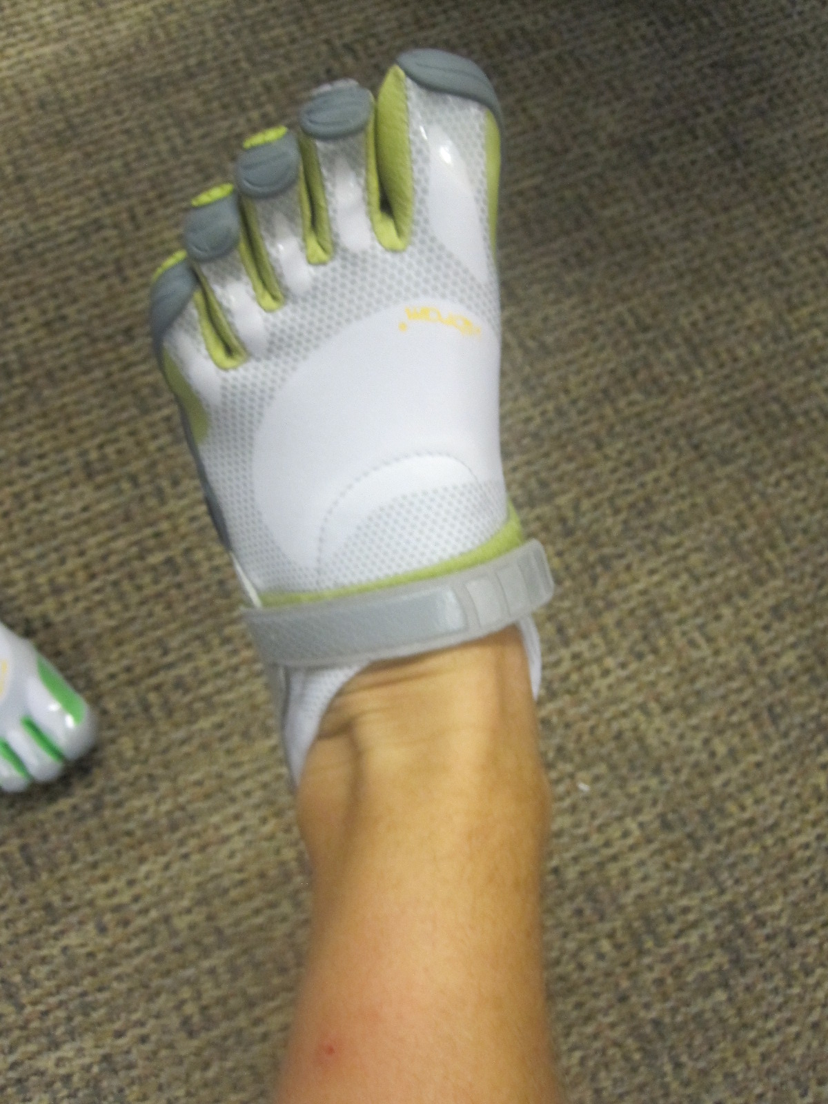 Making webbed feet cool….one shoe at a